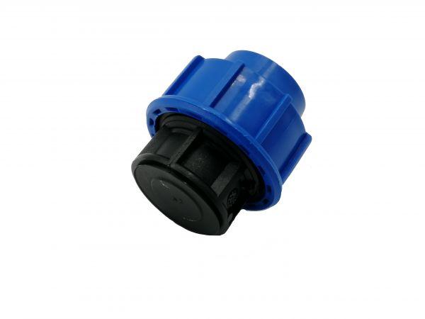 PP-Klemmfitting Endkappe 32mm