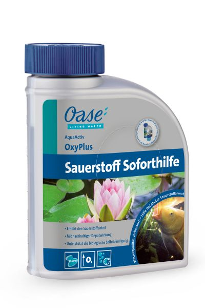 Oase OxyPlus Sauerstoff Soforthilfe
