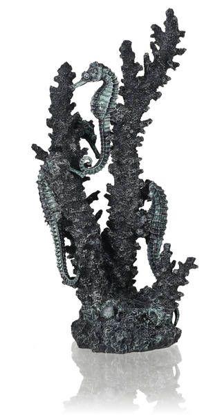 Oase biOrb Seepferdchen Ornament schwarz M
