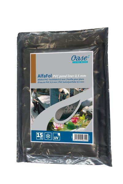Oase PVC Teichfolie AlfaFol 0,5mm 400 x 300cm Abschnitt