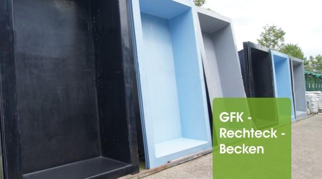 Gfk rechteckbecken granit 240 x 180 x 52cm ebay - Gartenteiche peter neyses ...