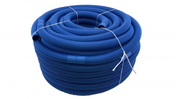 Poolschlauch/Schwimmbadschlauch NW 38mm, blau, Rolle 51m