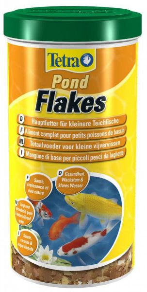Tetra Pond Flakes 1 Liter (180gr)