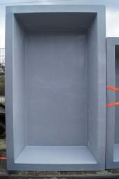 GFK Rechteckbecken (Granit) 240 x 180 x 52cm