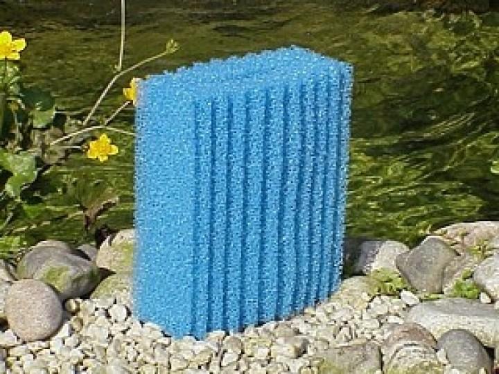 Oase ersatzschwamm oase biotec 10 1 blau oase for Oase teichtechnik
