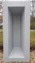 GFK Rechteckbecken (Granit) 180 x 80 x 52cm - Selbstabholung in 46147 Oberhausen