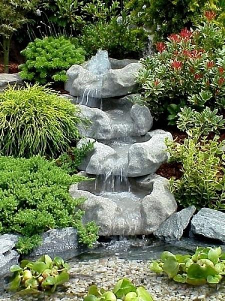 Wasserfall granit set 2 wasserfall granit bachlauf wasserfall oase - Neyses gartenteiche ...