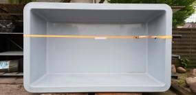 GFK Rechteckbecken (Granit) 386 x 236 x 100cm
