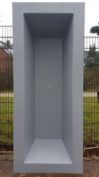 GFK Rechteckbecken (Granit) 240 x 100 x 52cm - Selbstabholung in 46147 Oberhausen