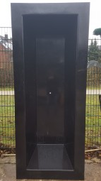 GFK Rechteckbecken (Schwarz) 240 x 100 x 52cm - Selbstabholung in 46284 Dorsten