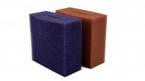 Oase Ersatzschwamm Set Rot/Violett Biotec 40000 / 90000