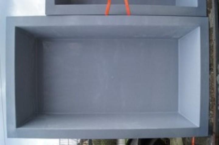 gfk rechteckbecken granit 386 x 236 x 100cm gfk. Black Bedroom Furniture Sets. Home Design Ideas