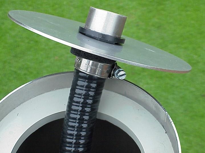 Anschlussmaterial f r edelstahl springbrunnens ule for Edelstahl gartendekoration