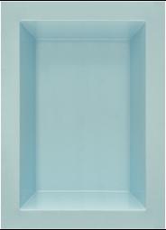 GFK Rechteckbecken (Blau-Granit) 180 x 130 x 52cm