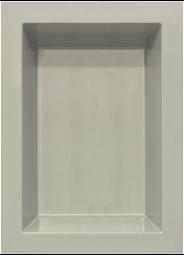GFK Rechteckbecken (Granit) 180 x 130 x 52cm