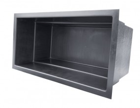 GFK Rechteckbecken (Schwarz) 460 x 200 x 130cm