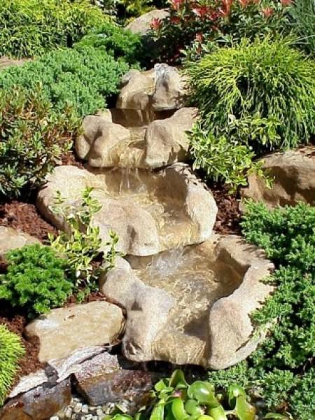 Wasserfall sand set 2 wasserfall sand bachlauf wasserfall oase oase - Neyses gartenteiche ...