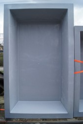 GFK Rechteckbecken (Granit) 300 x 180 x 52cm