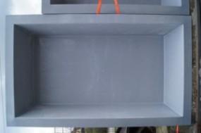 GFK Rechteckbecken (Granit) 307 x 180 x 130cm