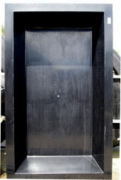 GFK Rechteckbecken (Schwarz) 240 x 180 x 52cm