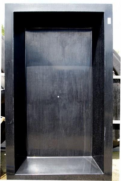 Gfk rechteckbecken schwarz 240 x 180 x 52cm gfk rechteckbecken teichbecken oase - Neyses gartenteiche ...
