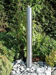 Edelstahl Springbrunnensäule 150cm