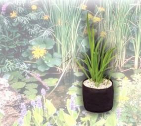 Flexibler Teichpflanzenkorb 25 x 25 x 20cm