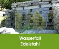 Edelstahl Wasserspiele | Wasserspiele | Oase Wassergarten.de - Oase ...