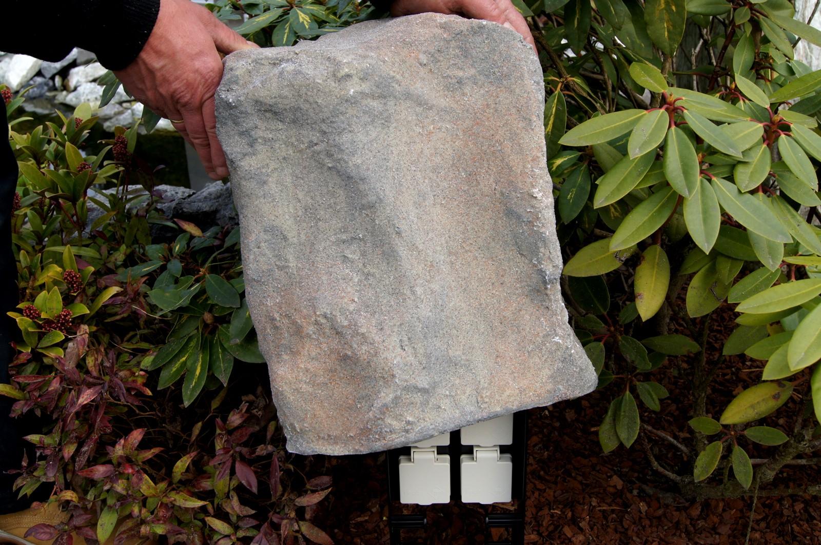 abdeckstein f r oase fm master sandstein strom im garten oase oase. Black Bedroom Furniture Sets. Home Design Ideas