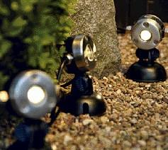 Oase Lunaqua Mini LED Warm - Ausleuchtung bei Dunkelheit