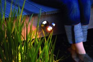 Oase Lunaqua Maxi LED Set 3 - Montage an Holzterasse