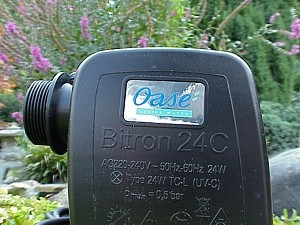 Oase Bitron 24 C - Kopfansicht