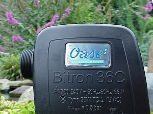 Oase Bitron 36 C - Kopfansicht
