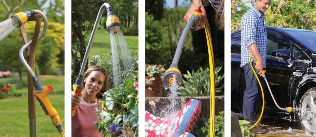 Hozelock Flexi Spray - viele verschiendene Einsatzmöglichkeiten