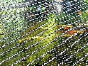 Laubschutznetz - 9m Breite